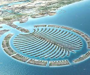 世界第八大奇迹—迪拜棕榈人工岛
