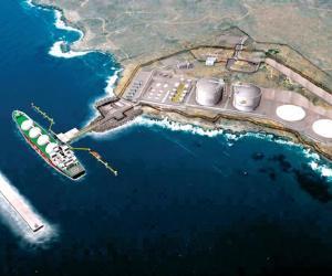 墨西哥液化石油气码头防波堤工程