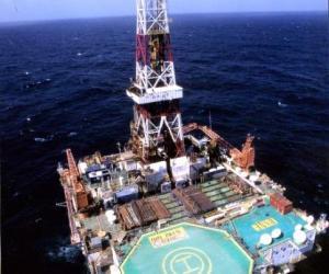 南海5号石油平台