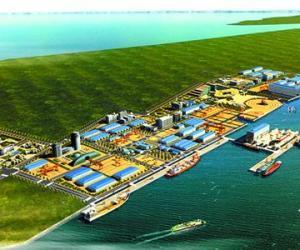 中国海运长兴基地码头工程开工