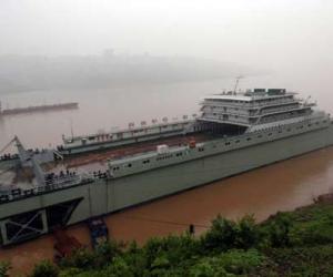重庆神溪一号浮船坞
