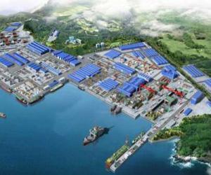 STX大连建世界最大船坞
