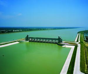 淮河入海水道近期工程二河枢纽工程