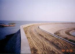 广东省海堤建设