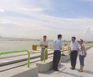 深圳大铲湾港口码头第一期工程(已经竣工)