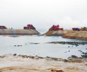 大连港东港新区已填海造地175万平方米