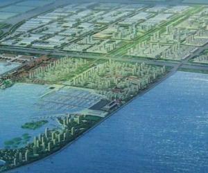 天津中心渔港项目海域挡沙堤工程