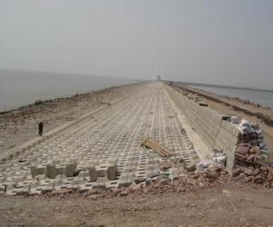 宁波市北仑区洋沙山围海工程