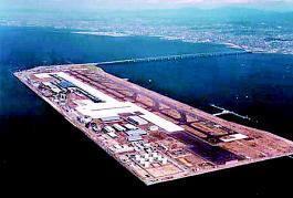 大阪围海建造关西机场