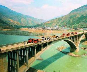 白龙江宝珠寺公路大桥